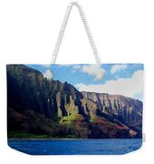 Na Pali Coast On Kauai Weekender Tote Bag
