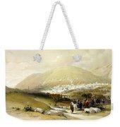Nablus Old Shechem Weekender Tote Bag