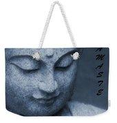Namaste Buddha Weekender Tote Bag