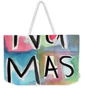 Namaste Watercolor Weekender Tote Bag