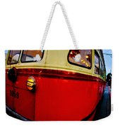 San Francisco Streetcar Weekender Tote Bag