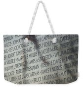 Names On A Wall Weekender Tote Bag
