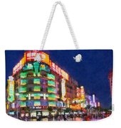 Nanjing Road In Shanghai Weekender Tote Bag