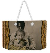Nanny And Child, C1855 Weekender Tote Bag