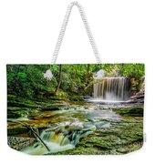 Nant Mill Waterfall Weekender Tote Bag