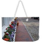 Nantucket Street Scene Weekender Tote Bag