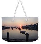 Nantucket Sunrise 1 Weekender Tote Bag