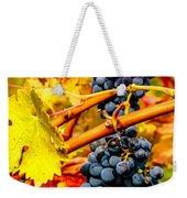 Napa Valley Grapes, California Weekender Tote Bag