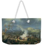 Napoleon 1769-1821 Visiting A Bivouac On The Eve Of The Battle Of Austerlitz, 1st December 1805 Weekender Tote Bag