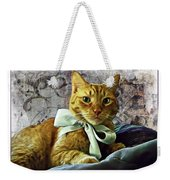 Napoleon And The Ribbon Weekender Tote Bag