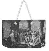 Napoleon At Jaffa, 1799 Weekender Tote Bag
