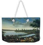 Napoleon Before The Battle Of Wagram, 6th July 1809 Weekender Tote Bag