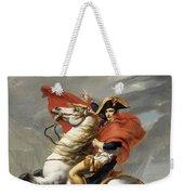 Napoleon Bonaparte On Horseback Weekender Tote Bag