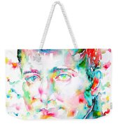 Napoleon Bonaparte - Watercolor Portrait Weekender Tote Bag