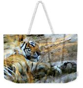 Naptime For A Bengal Tiger Weekender Tote Bag