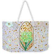 Narcissus Flower Petals Weekender Tote Bag