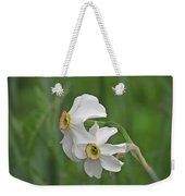 Narcissus Pair Weekender Tote Bag