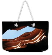 Narrow Canyon Vi Weekender Tote Bag