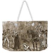 Narrow Escape Of Benedict Arnold, When Weekender Tote Bag