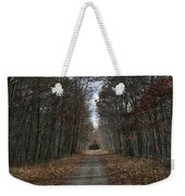 Narrow Path On Recovery Road Weekender Tote Bag