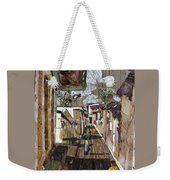 Narrow Street Weekender Tote Bag