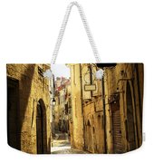 Narrow Street In Perigueux Weekender Tote Bag by Elena Elisseeva