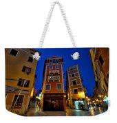 Narrow Streets And Buildings - Rovinj Croatia Weekender Tote Bag