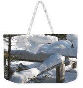 Narrow Trail Weekender Tote Bag