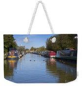 Narrowboats Weekender Tote Bag
