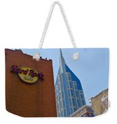 Nashville Downtown Weekender Tote Bag