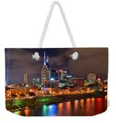 Nashville Is A Colorful Town Weekender Tote Bag