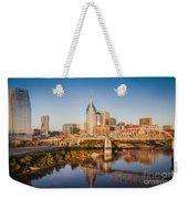 Nashville Morning Weekender Tote Bag