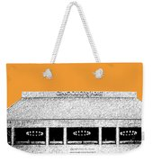 Nashville Skyline Grand Ole Opry - Orange Weekender Tote Bag