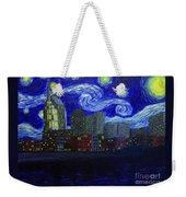 Dedication To Van Gogh Nashville Starry Nights Weekender Tote Bag