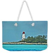 Nassau Bahama Lighthouse Weekender Tote Bag