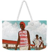 Nassau Woman Weekender Tote Bag