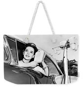 Natalie Wood At A Drive-in Weekender Tote Bag