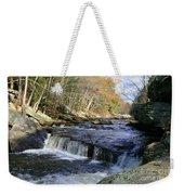 Natchaug River Falls Weekender Tote Bag