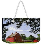 Nathan Hale Homestead Coventry Connecticut Weekender Tote Bag