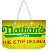 Nathan's Famous Weekender Tote Bag