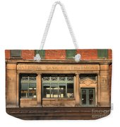 National Bank Of Thurmond Weekender Tote Bag