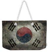 National Flag Of South Korea Desaturated Vintage Version Weekender Tote Bag