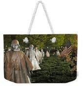 National Korean War Memorial  Weekender Tote Bag