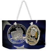 National Law Enforcement Memorial Mint Weekender Tote Bag by Gary Yost