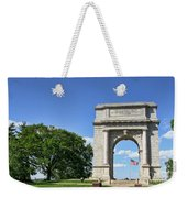 National Memorial Arch At Valley Forge Weekender Tote Bag