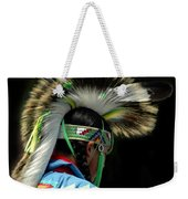 Native American Boy Weekender Tote Bag