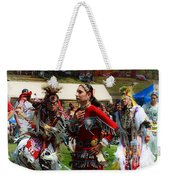Native American Dancers Weekender Tote Bag
