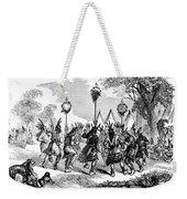 Native American Scalp Dance Weekender Tote Bag