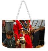 Native American Youth Dancer Weekender Tote Bag