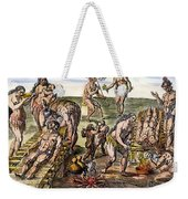 Native Americans: Disease Weekender Tote Bag